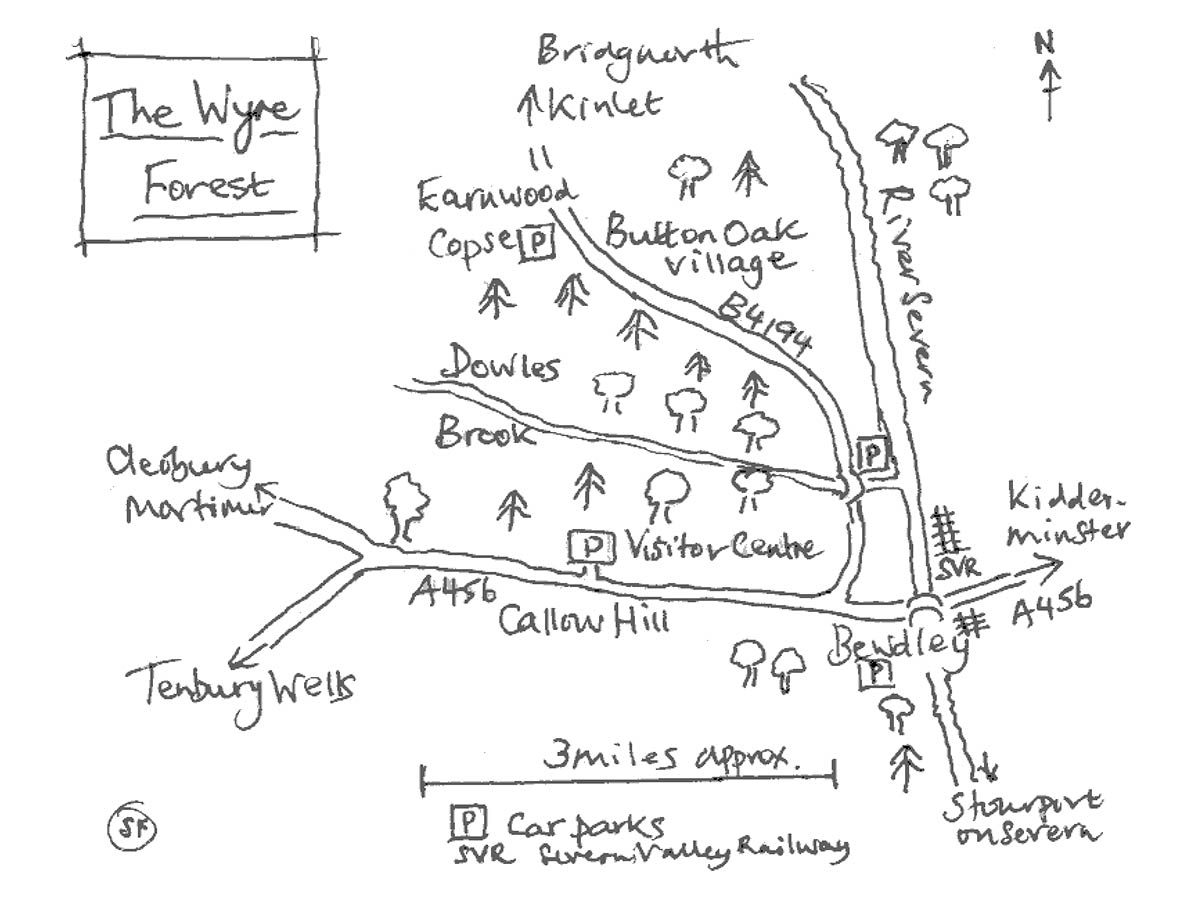Wyre Forest Map
